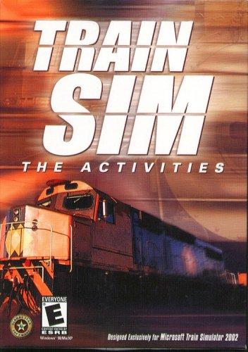 TRAIN SIM: The Activities PC CD-ROM - NEW Sealed BOX