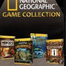 National Geographic Game Collection (4 Games) PC-CD for Windows - NEW in DVD BOX