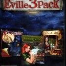 Eville3Pack (3 Games) PC-CD for Windows - NEW in DVD BOX