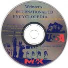 Webster's International Encyclopedia '99 CD-ROM for Windows - NEW CD in SLEEVE