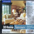 3D Home Interiors Deluxe v2.0 (2CDs) Windows - NEW CDs in SLEEVE