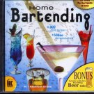 Home Bartending + BONUS CD-ROM for Win/Mac - NEW CD in SLEEVE