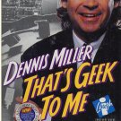 Dennis Miller That's Geek To Me CD-ROM for Win/Mac - NEW CD in SLEEVE