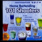 Home Bartending 101 Shooters CD-ROM for Win/Mac - NEW CD in SLEEVE