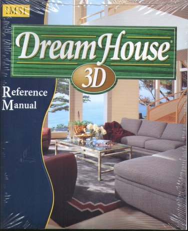 IMSI DreamHouse 3D CD-ROM for Windows - NEW CD in SLEEVE