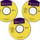 Spanish for Everyone (3CDs) for Windows - NEW CDs in SLEEVE