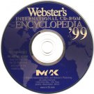 Webster's International Encyc. '99 CD-ROM for Windows 95/98 - NEW CD in SLEEVE