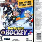 Backyard NHL HOCKEY CD-ROM for Windows - NEW CD in SLEEVE