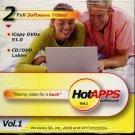 iCopy DVDs v1.0 & CD/DVD Labler CD-ROM for Windows - NEW in SLV