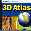 Axion 3D World Atlas PC-CD for Windows - NEW CD in SLEEVE