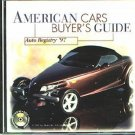 Auto Registry '97 American Cars Buyer's Guide CD for Win/Mac - NEW CD in SLEEVE