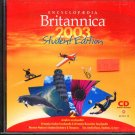 Encyclopedia Britannica 2003 Student Ed. CD-ROM for Win/Mac - New CD in SLEEVE