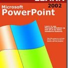 Learn Microsoft PowerPoint 2002 CD-ROM for Windows - NEW CD in SLEEVE