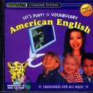 Let's Play! Vocabulary American English CD-ROM for Win/Mac - NEW CD in SLEEVE