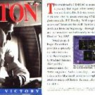Clinton: Portrait of Victory CD-ROM for DOS/MAC - NEW CD in SLEEVE