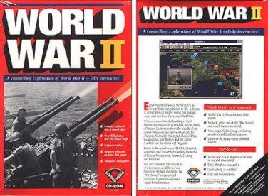 World War II (IMSI) CD-ROM for Windows - NEW CD in SLEEVE