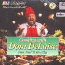 Cooking with Dom DeLuise (2CDs) Win/DOS - New CDs in SLEEVE