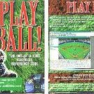PLAY BALL! (BASEBALL REFERENCE TOOL) CD-ROM for Windows - NEW CD in SLEEVE