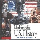 Multimedia U.S. History CD-ROM for Windows - NEW CD in SLEEVE