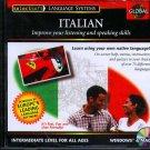 EuroTalk GLOBAL ITALIAN Intermediate Level CD-ROM for Win/Mac - NEW CD in SLEEVE