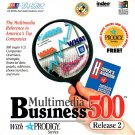 Multimedia Business 500 Release 2 CD-ROM for Windows - NEW CD in SLEEVE
