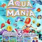 Aqua Mania 5 Game Pack PC CD-ROM - NEW CD in SLEEVE