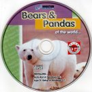 Bears & Pandas of the World CD-ROM for Windows - NEW CD in SLEEVE