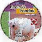 Bears & Pandas of the World CD-ROM for Windows - NEW CD in SLEEVE