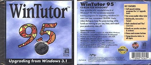 WinTutor 95 CD-ROM for Windows - NEW CD in SLEEVE