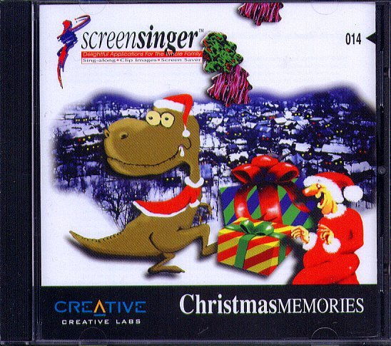 Christmas Memories CD-ROM for Windows - NEW CD in SLEEVE