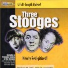 Three Stooges (4 Videos) CD-ROM for Windows - NEW CD in SLEEVE
