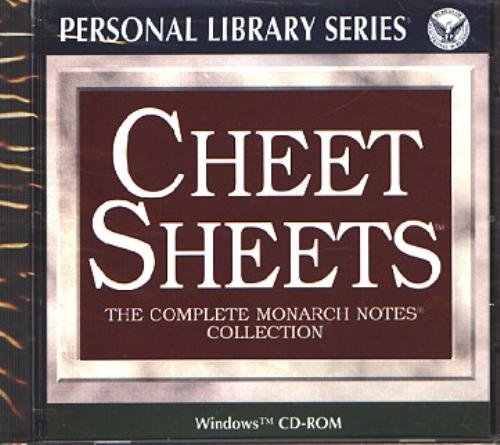 Cheet Sheets CD-ROM for Windows - NEW CD in SLEEVE