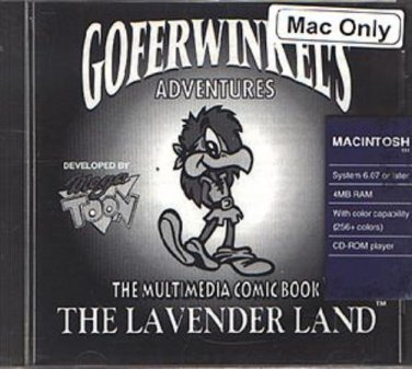 Goferwinkel's Adventure: The Lavender Land SE CD-ROM for MAC - NEW CD in SLEEVE