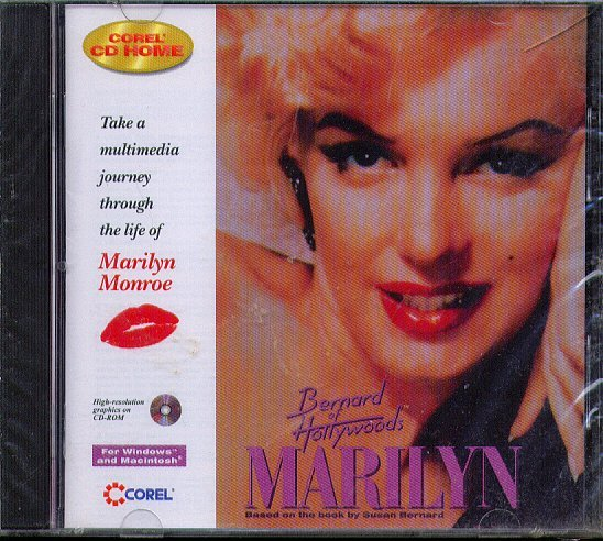 Bernard of Hollywood's Marilyn CD-ROM for Win/Mac - NEW CD in SLEEVE