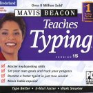 Mavis Beacon Teaches Typing 15 CD-ROM for Windows 2K/XP/Vista - NEW CD in SLEEVE