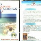 Best Beaches in the Caribbean CD-ROM for Win/Mac - NEW CD in SLEEVE