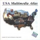 USA Multimedia Atlas (2CDs) for Windows - NEW CDs in SLEEVE