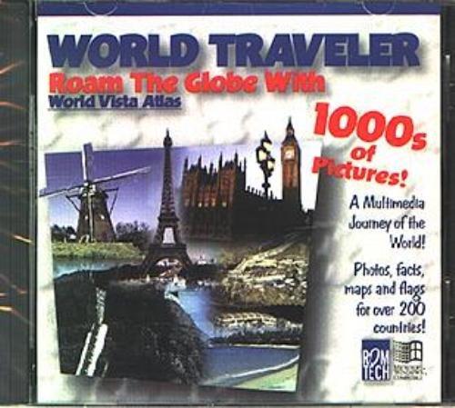 World Traveler CD-ROM for Windows - NEW CD in SLEEVE