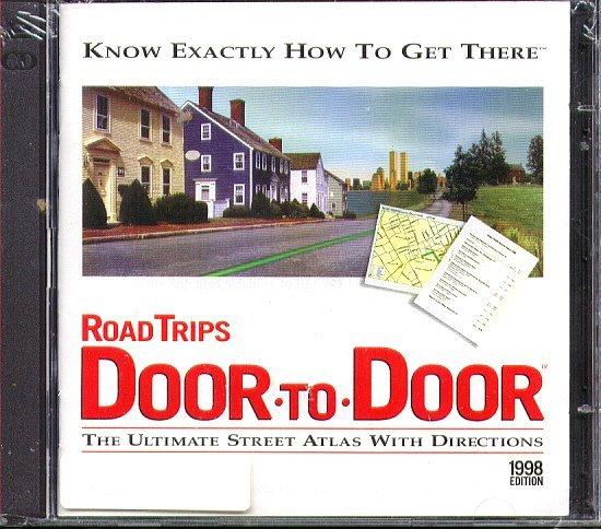 TravRoute: RoadTrips DOOR-TO-DOOR (2CDs) for Windows - New CDs in SLEEVE