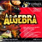 Mighty Math Astro Algebra CD-ROM for Win/Mac - NEW CD in SLEEVE