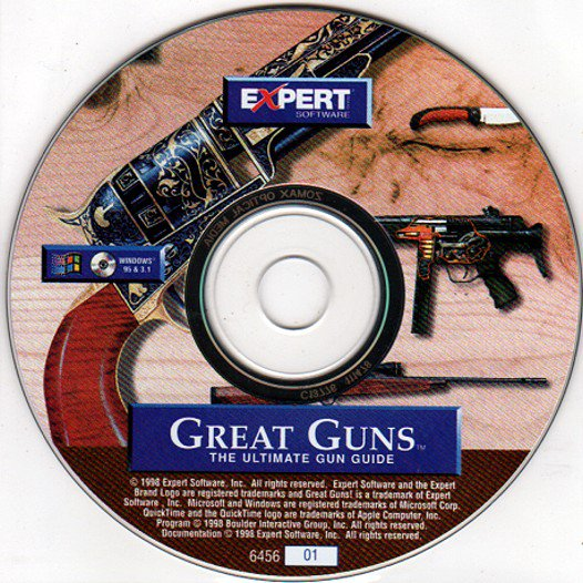 Great Guns (The Ultimate Gun Guide) CD-ROM for Windows - NEW CD in SLEEVE