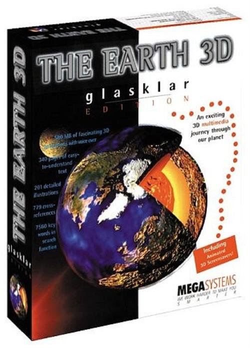 THE EARTH 3D CD-ROM for Windows - NEW CD in SLEEVE