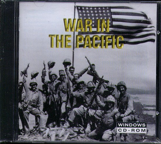 War in the Pacific CD-ROM for Windows - NEW CD in SLEEVE