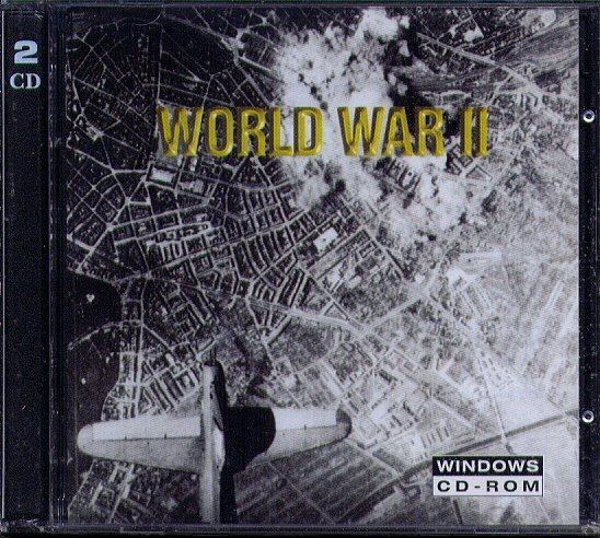World War II (2 CD-ROM SET) for Windows - NEW CDs in SLEEVE