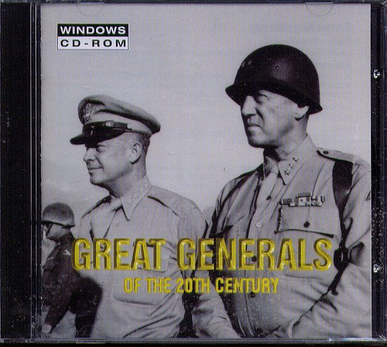 Great Generals of the 20th Century CD-ROM for Windows - NEW CD in SLEEVE