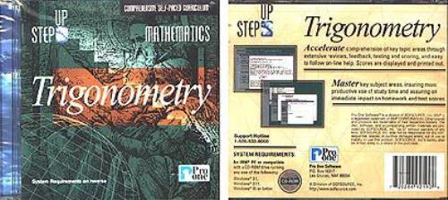 Step Up Mathematics: Trigonometry CD-ROM for Windows - NEW CD in SLEEVE