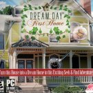 DREAM DAY First Home PC CD-ROM for Windows Vista/XP/2000 - NEW Sealed JC