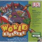 World Explorer (Ages 6-9) CD-ROM for Windows - NEW Sealed JC