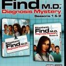 Elizabeth Find M.D. Diagnosis Mystery Season 1&2 (PC/MAC-CD, 2012) - NEW DVD BOX