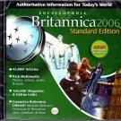 Encyclopedia Britannica 2006 Standard Ed. (2CDs) for Win/Mac - NEW CDs in SLEEVE